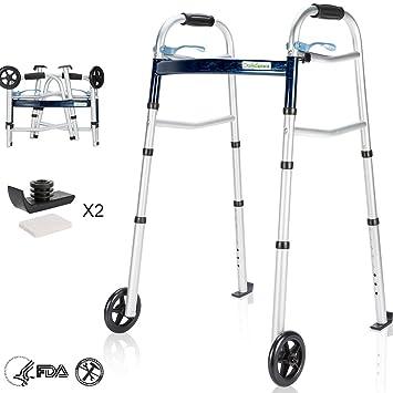 Amazon.com: OasisSpace - Caminero plegable compacto, con ...
