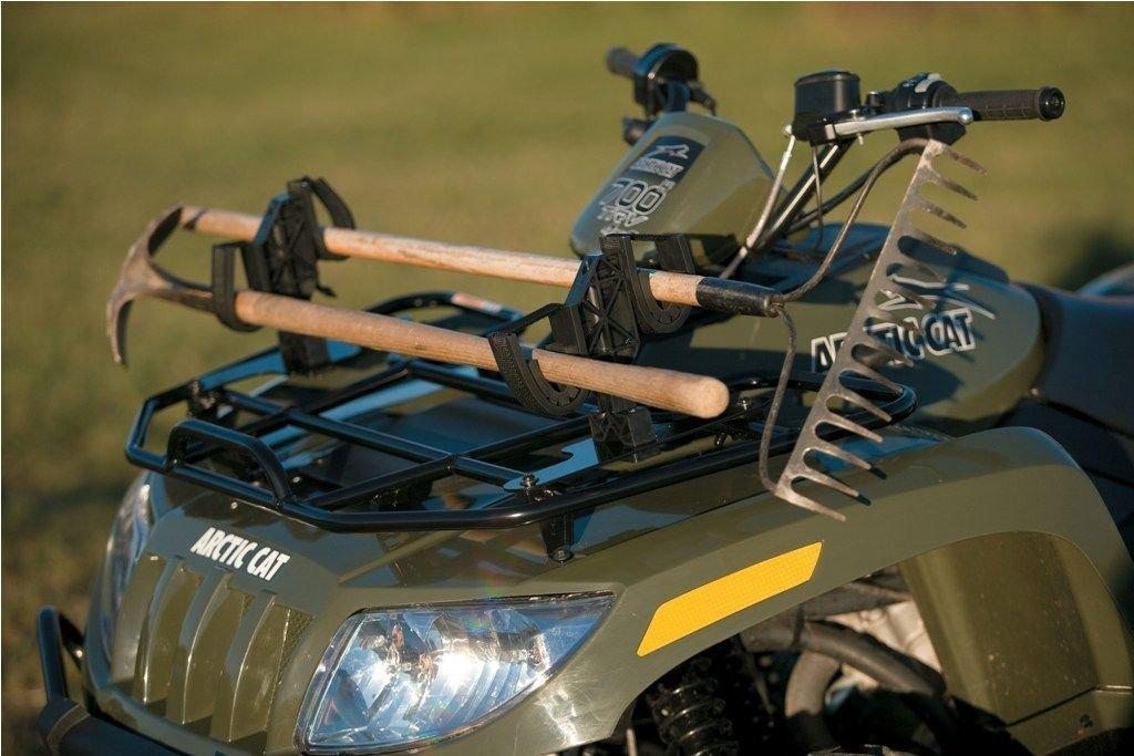 Arctic Cat ATV Speedrack Front Rack Dual Gun Rifle Tool Utility Mounts NEW OEM 1436-179