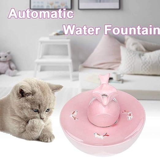 XD Panda Fuente automática de Agua para Gatos domésticos con ...