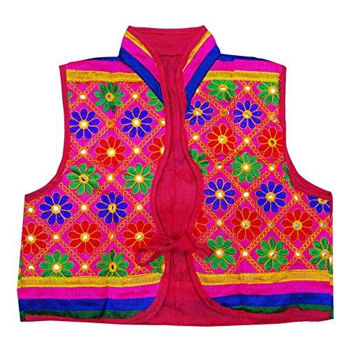 Peegli Indian Ethnic kutch Embroidered Banjara Jacket Women Shrug Koti (Embroidered Shrug)