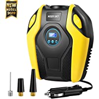 Tire Inflator, Electric Air Compressor Pump, 12V DC Portable Tire Pump with Digital Display up to… photo