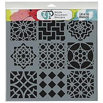 CRAFTERS WORKSHOP Templates 12X12-Bamboo