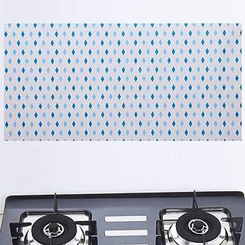 Kaka (TM) cocina oleofóbico anti-smoke estufa alta temperatura resistencia Lámina autoadhesiva pegatinas de pared: Amazon.es: Hogar