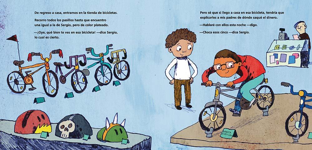 Una bicicleta como la de Sergio (Spanish Edition): Maribeth Boelts, Noah Z. Jones: 9781536205657: Amazon.com: Books