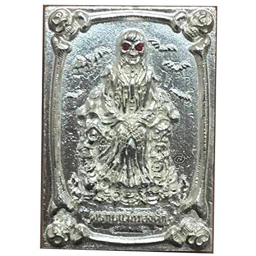 Good Luck Business Jewelry Magic Pendant Phrai Mae Tongkaam Naa Nah Tong Riagtraab Raabchock Amulet by Kruuba Subin by Amulet Land (Image #4)'
