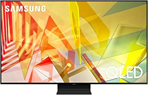 SAMSUNG 55-inch Class QLED Q90T Series - 4K UHD Direct Full Array 16X Quantum HDR 12X Smart TV with Alexa Built-in (QN55Q90TAFXZA, 2020 Model)