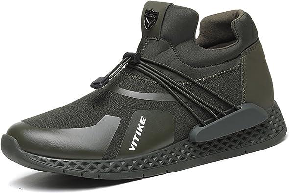 Zapatillas Deporte Hombre Mujer Deportivos Running Zapatillas para Correr Aptitud Ligero Deportes Zapatos para Correr por VITIKE: Amazon.es: Zapatos y complementos