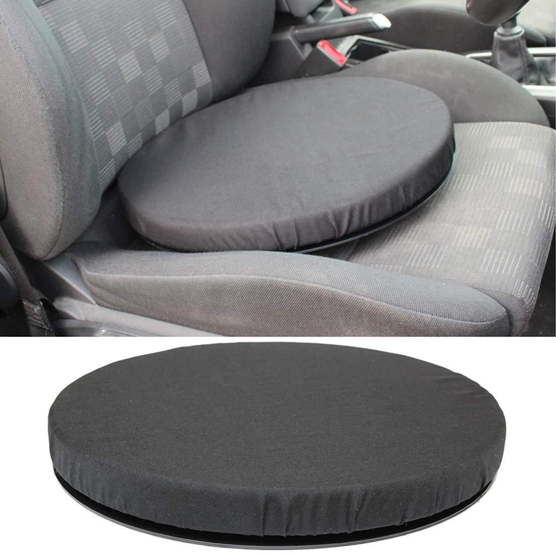 color negro Goldstar Coj/ín giratorio para asiento de coche