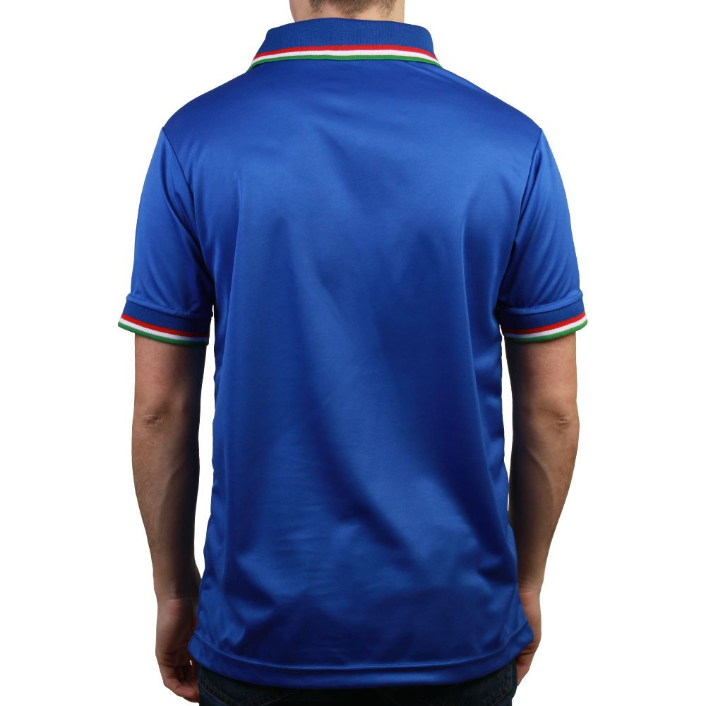 Toffs Italy 1990 World Cup Home Retro Football Shirt`