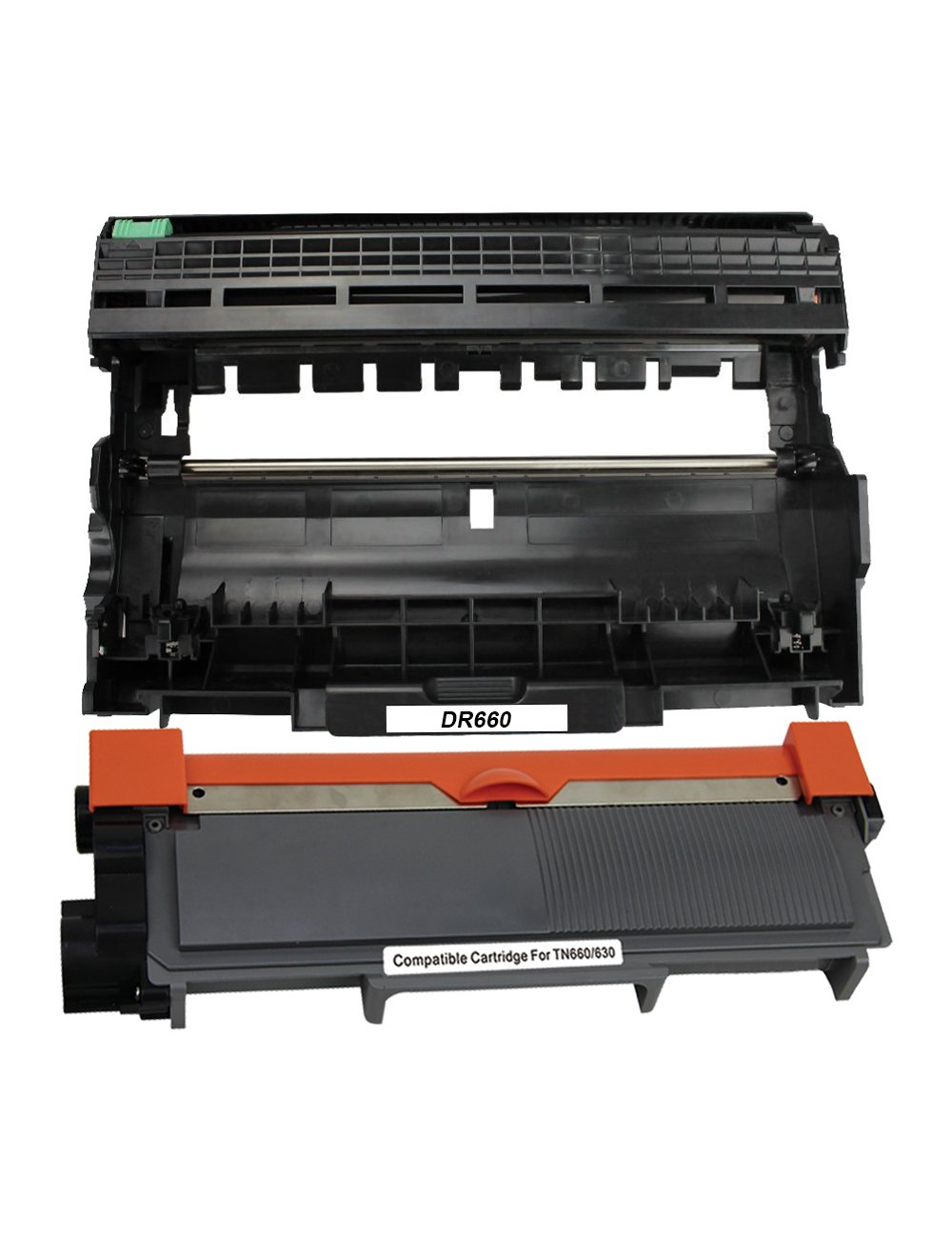 1 DR630 Toner Drum for Brother MFC-L2700DW MFC-L2740DW DR660 Printer 5 4 TN660