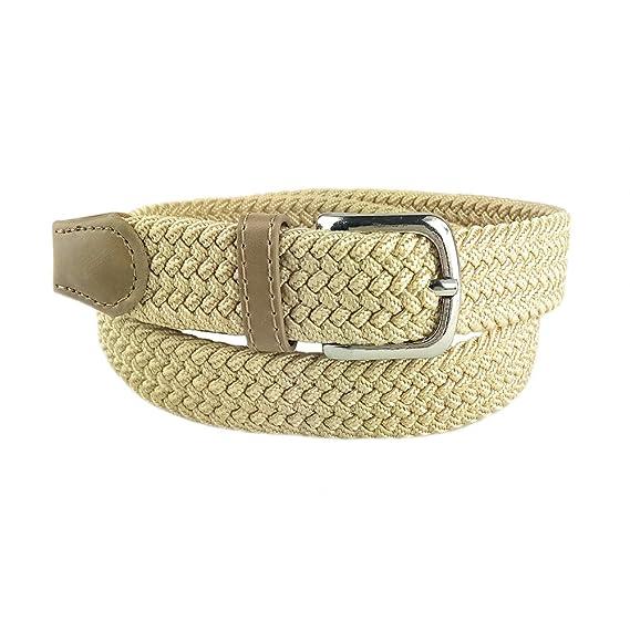 MYB Cintura elastica intrecciata per Bambino e Bambina - diversi colori e  taglie  Amazon.it  Abbigliamento a59326a5ab8