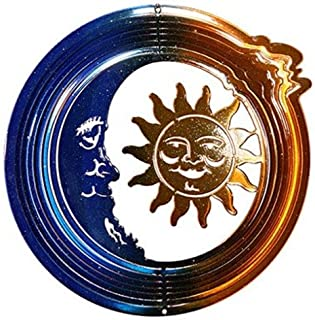 product image for Next Innovations EMSUNMOONB/C PB Blue and Copper Sun and Moon Eycatcher, Medium