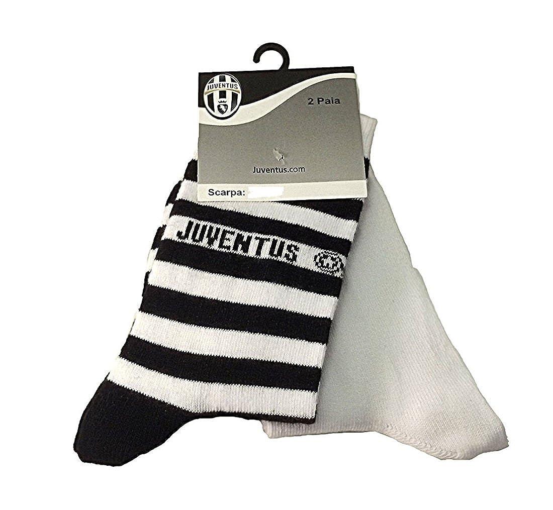 Calze Juve Bambino Ragazzo 2 paia Juventus abbigliamento squadre *01887 Planetex