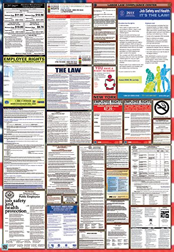 New York / Federal Combination Labor Law Posters (New)