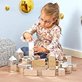 TTS Mini Construction Blocks | Encourage Children to Work Together | Light Weight - Metallic Pack of 32