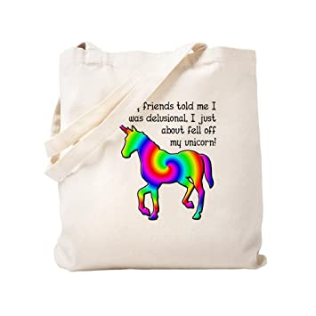 CafePress - Unicornio gracioso camiseta - Natural gamuza de ...