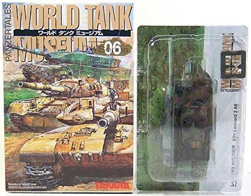 World Tank Museum - Japan Import [12] Takara 1/144 World tank museum Vol.6 Leopard 2A4 NATO camouflage separately