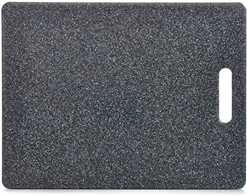 Zeller, 26057, snijplank, graniet-look, kunststof, ca. 36,5 x 27,5 x 0,8 cm.