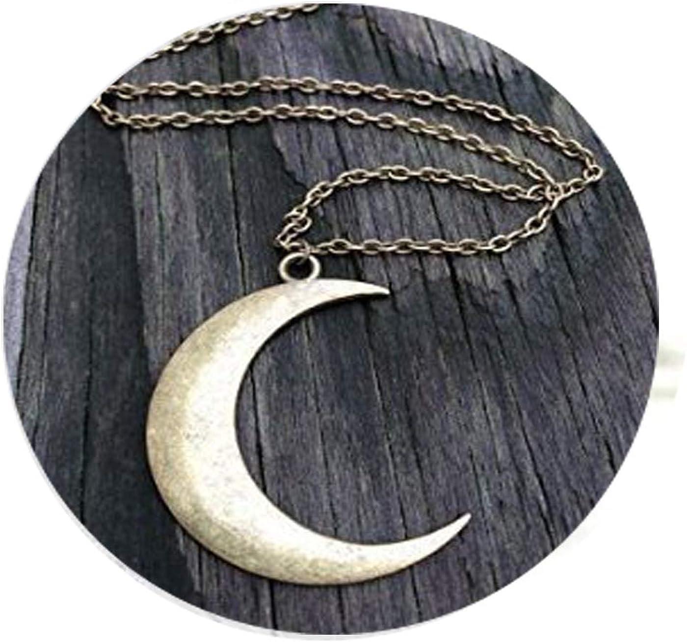 Brass Necklace Statement Necklace Mid-century Necklace Semicircle Necklace Half Moon Necklace