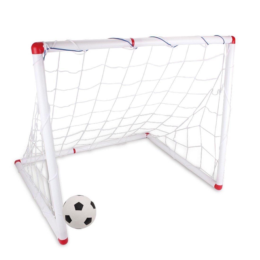 Mingcheng DIY Youthスポーツサッカーサッカーボールとポンプの練習目標とScrimmageゲーム – ホワイト 33.85*15.74*21.65 inches ホワイト MF0IHUI5Z9819 33.85*15.74*21.65 inches ホワイト B07G12XTC5