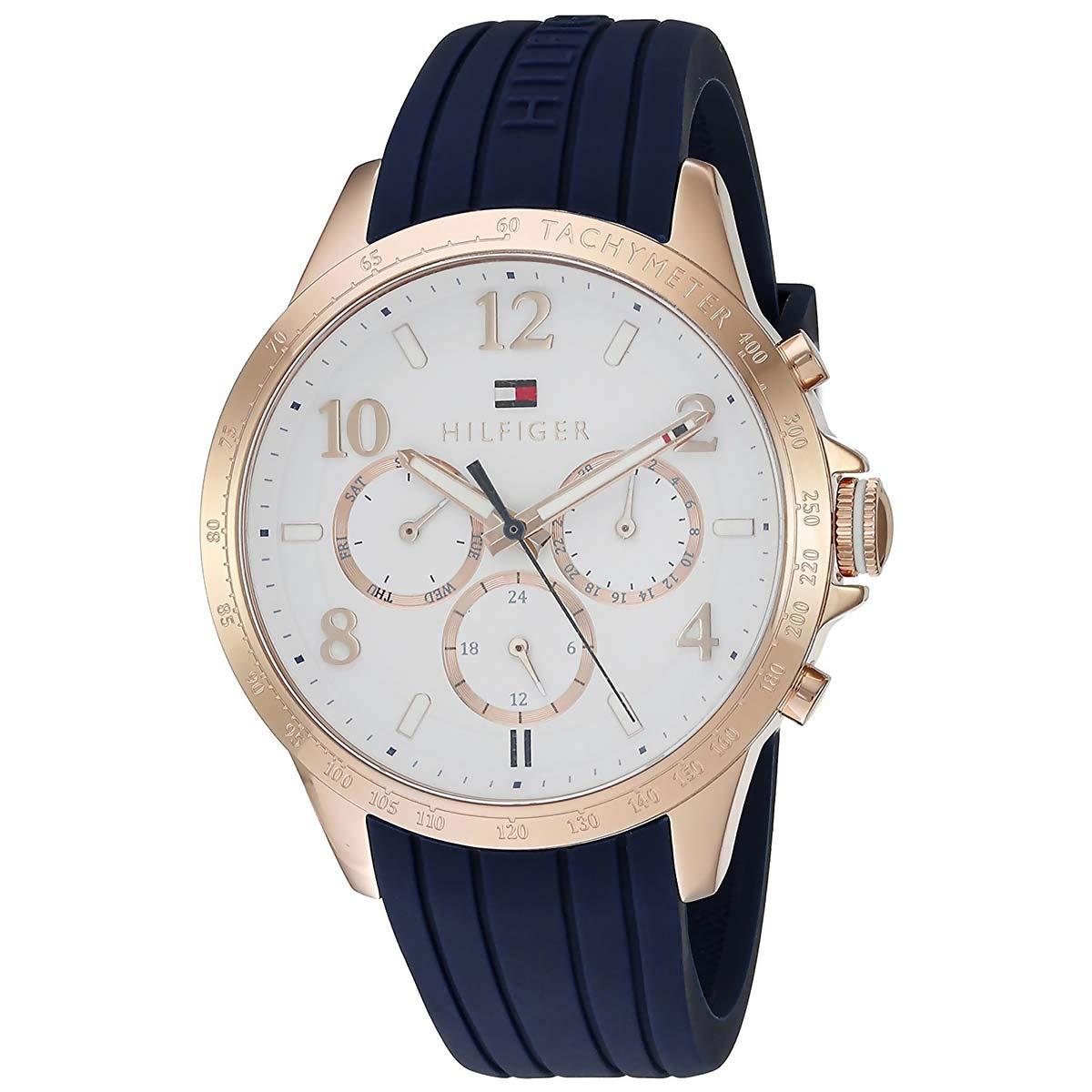 CDM product Tommy Hilfiger Women's 1781645 Dani Analog Display Japanese Quartz Blue Watch big image