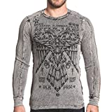 Affliction Silent Eagle Chrome Reversible Thermal XL