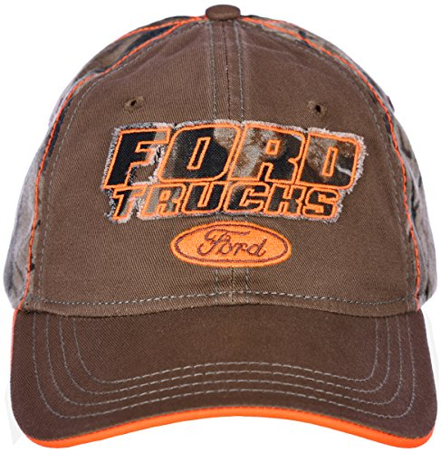 H3 Headwear Ford Trucks Adjustable Cap with Realtree Camouflage & Hunter (Ford Trucks Hat)