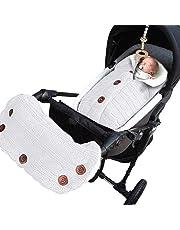 Yinuoday - Manta para bebé recién nacido con terciopelo para cochecito de bebé, manta de