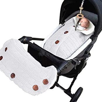2-Pieces Baby Fleece Blanket Swaddle