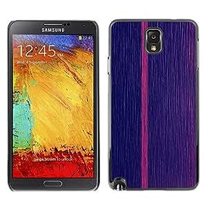 Be Good Phone Accessory // Dura Cáscara cubierta Protectora Caso Carcasa Funda de Protección para Samsung Note 3 N9000 N9002 N9005 // Pink Vertical Line Stripe Minimalist