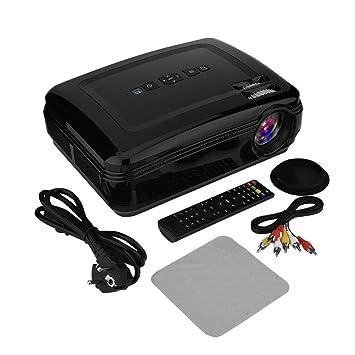 Proyector de Video, Mini proyector de Cine en casa 1080P 3000: 1 ...