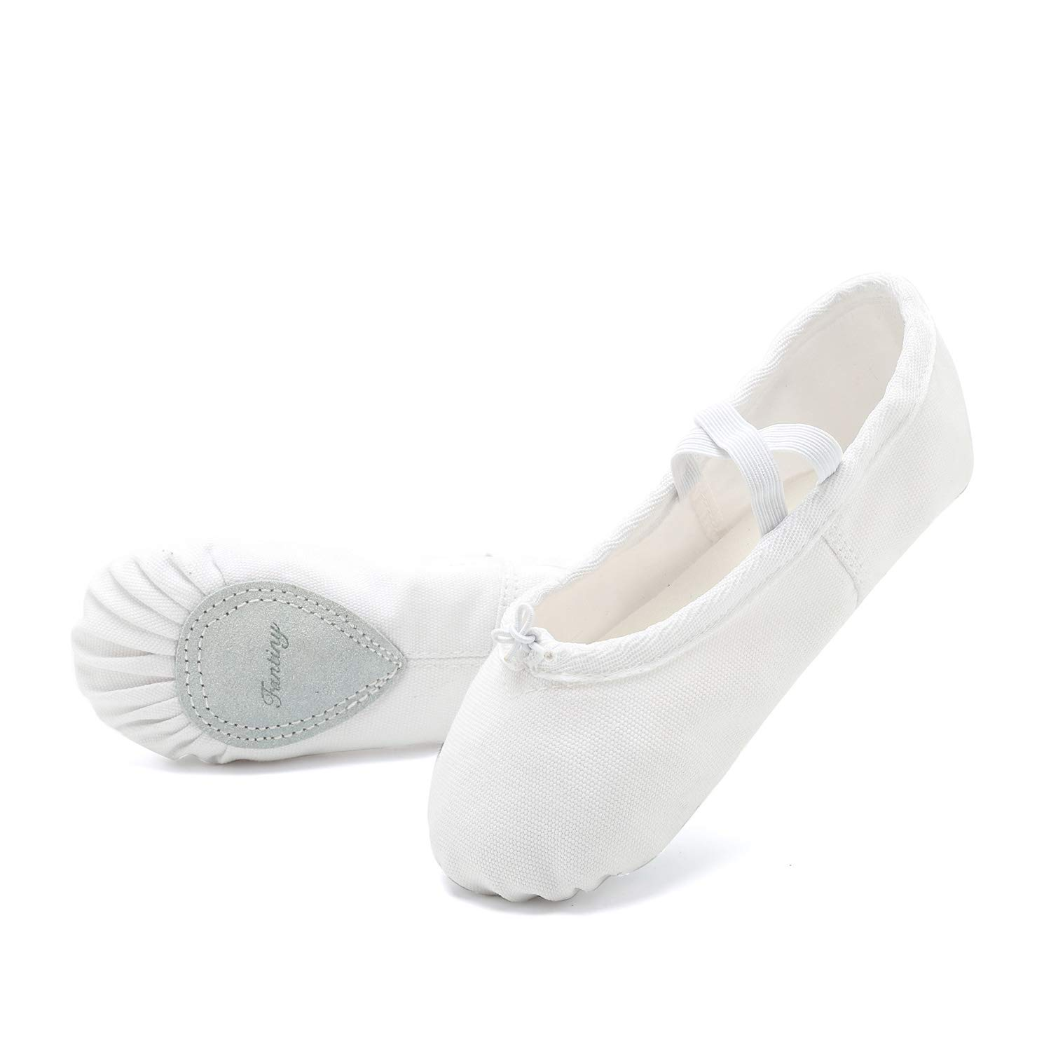 73df6debcae0d CIOR Ballet Slippers for Girls Classic Split-Sole Canvas Dance Gymnastics  Yoga Shoes Flats