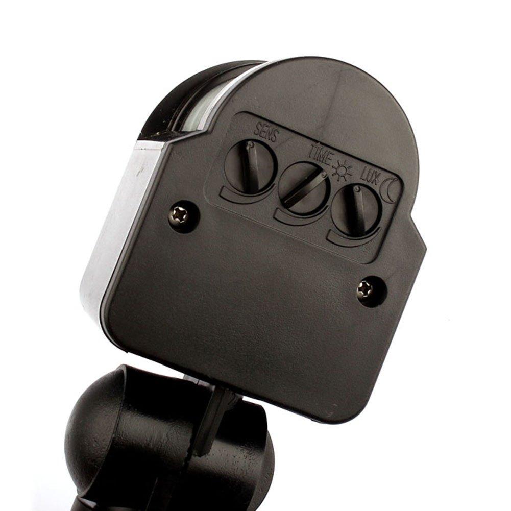 Automatic Infrared Pir 180 Dc12v Motion Sensor Switch Detector For Led Outdoor Ebay