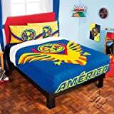 Bedspread Fleece CLUB America Aguilas Soccer (Ind.-Twin / Mat.-Full) Sports Football LIMITED EDITION