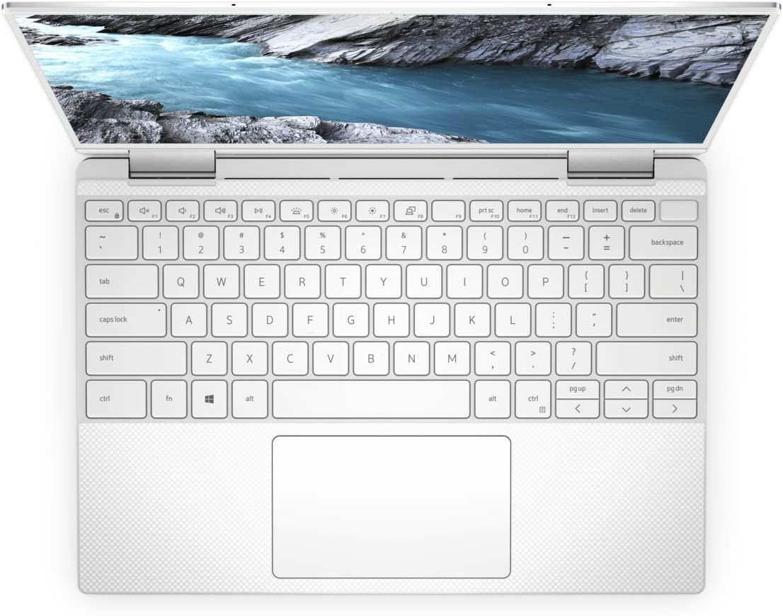 TPU Ultra Thin Clear Keyboard Cover Compatible with 13.3 New 2019 Dell XPS 13 7390 2-in-1 Laptop Leze