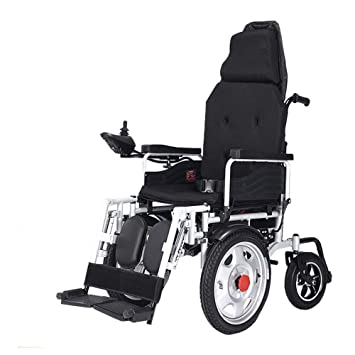 Amazon.com: YOLANDEK - Silla de ruedas eléctrica de batería ...