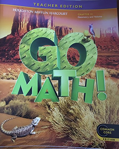 Go Math! Grade 5 Teacher Edition Chapter 11: Geometry and Volume (Common Core Edition)