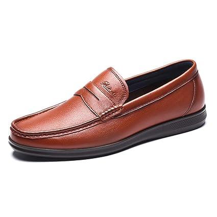 Amazon.com  LXLA- Mens Business Casual Dress Leather Shoes