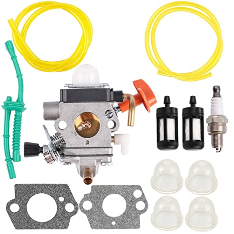 Amazon com: C1Q-S174 Carburetor w Fuel Line for Stihl HT101