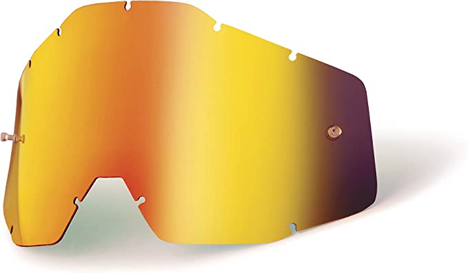Replacement Glass Silver Mirrored for 100/% BARSTOW Motorcycle Goggles Replacement Lens