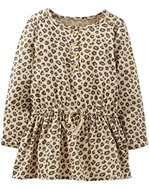Print Tunic (Baby) - Leopard-6 Months