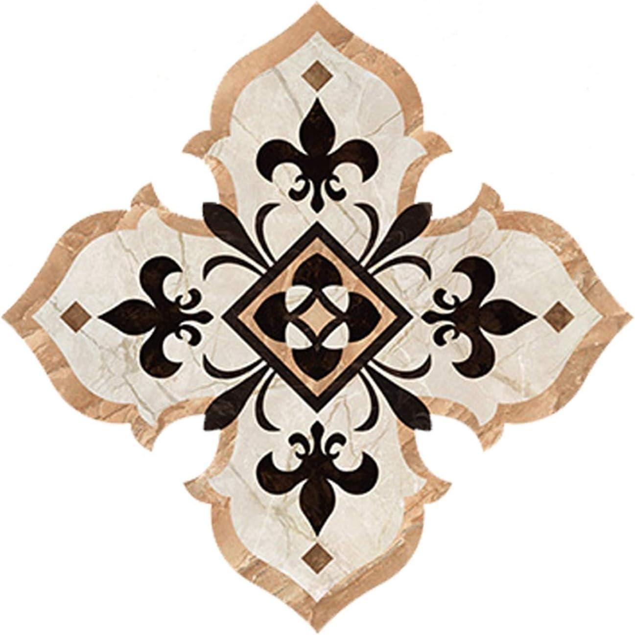 Amazon Com Jucaiyuan 21 Pcs Smooth Floor Sticker Backsplash Applique Pvc Waterproof Diagonal Stickers Home Ceramic Tile Decal For Kitchen Bathroom Color O Home Kitchen