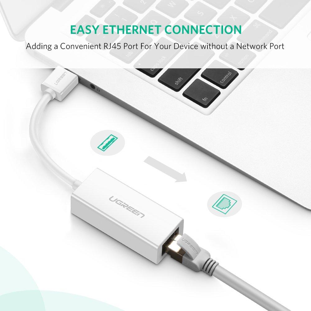 UGREEN USB 3.0 auf RJ45 Gigabit Ethernet LAN: Amazon.de: Computer ...