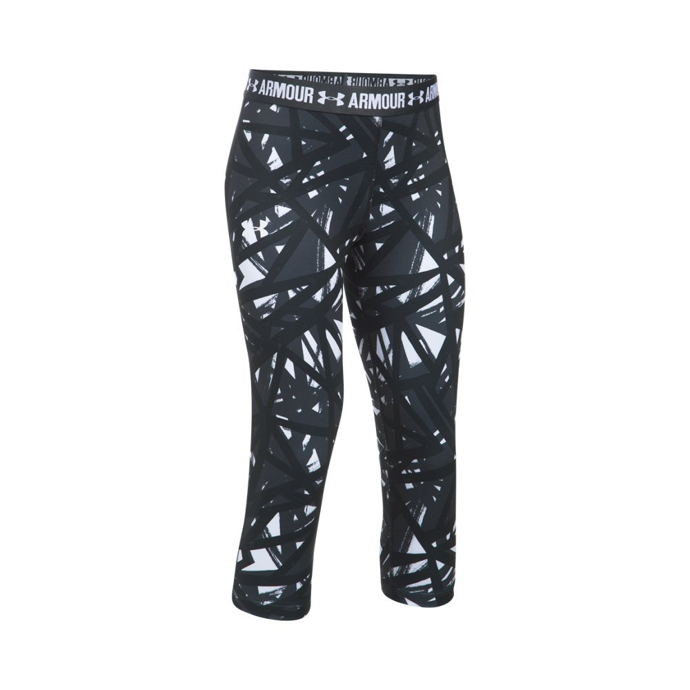 Under Armour UA HeatGear Armour Printed Youth X-Small White