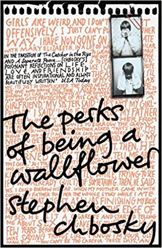 Image result for perks of being a wallflower book cover