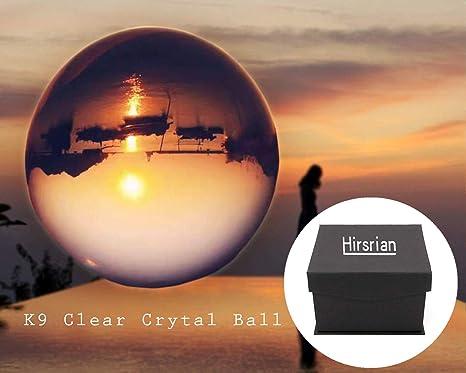 Hirsrian - Pelota de Objetivo de fotografía Transparente (80 mm ...