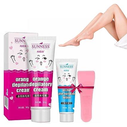 gstone 1pc Depilación Crema Set Hombres y Mujeres para la crema personalizadas verblasst en la axilas
