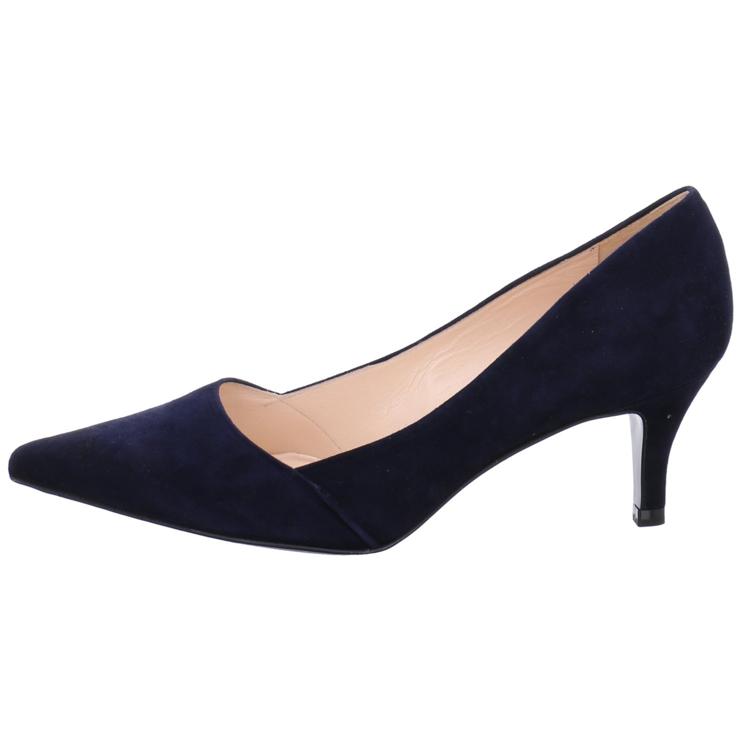 059c3bb2edbf4 Peter Kaiser Semitara Low Pointed Court 6 Navy Suede: Amazon.co.uk: Shoes &  Bags