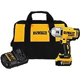 "DEWALT DCF899P1 20V MAX XR Brushless High Torque 1/2"" Impact Wrench Kit with Detent Anvil"