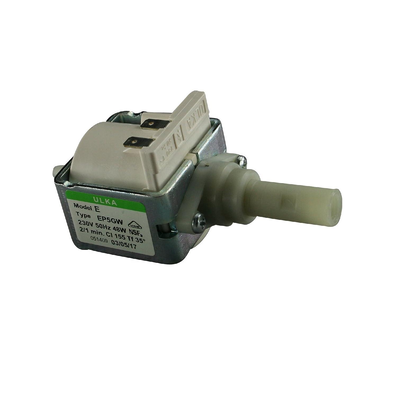Pompa elettrica Pompa ULKA EP5GW con 230Volt 48Watt 15Bar ignifugo, per caffè espresso automatica (Ricondizionato Certificato) per caffè espresso automatica (Ricondizionato Certificato)
